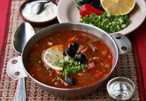 суп мясная солянка сборная