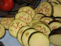 баклажаны и кабачки нарезанные для мусаки