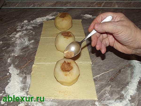 фарширую яблоки