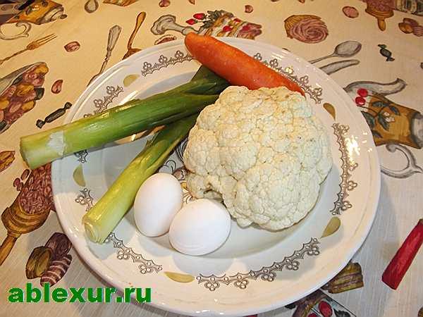 продукты для капусты с яйцом
