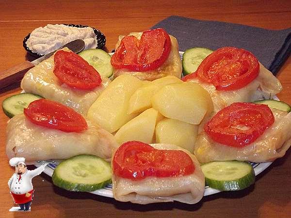 овощные голубцы с картошкой
