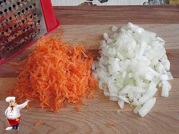 подготавливаю овощи