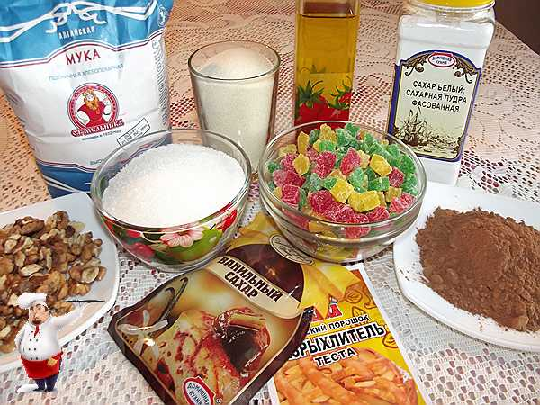 продукты для манника