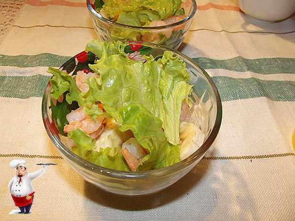 рву еще салат