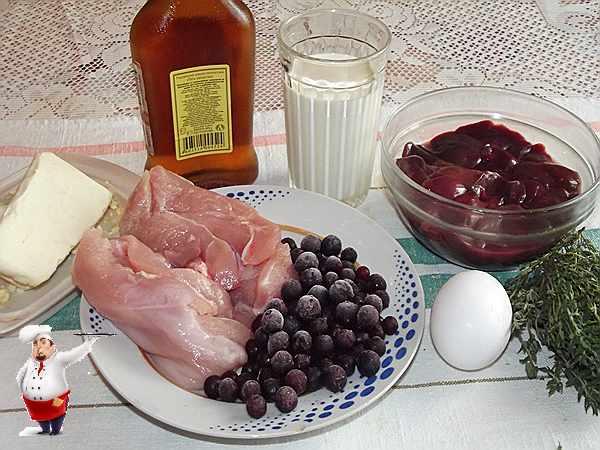 продукты для паштета