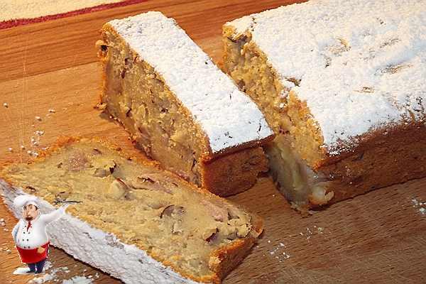 банановый кекс рецепт с орехами
