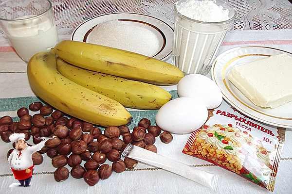продукты для кекса