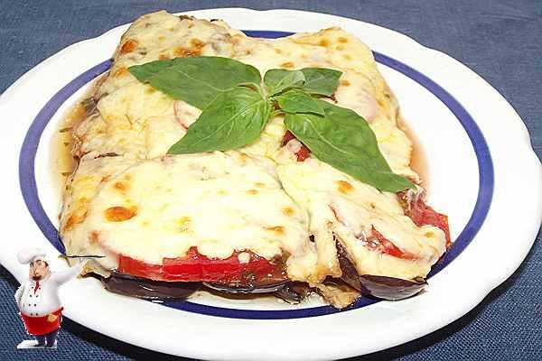 овощная лазанья с баклажанами
