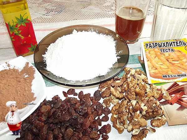 продукты для постной коврижки с медом