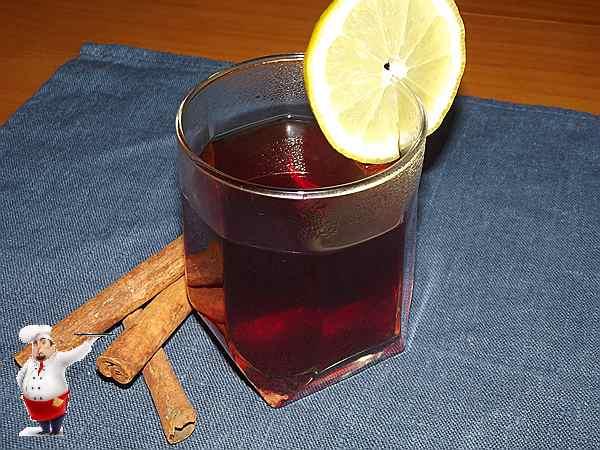 как приготовить глинтвейн дома с корицей и лимоном