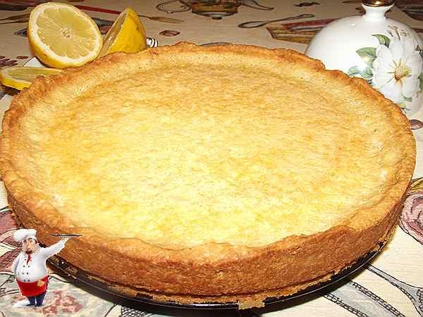 лимоны с запеченным тартом