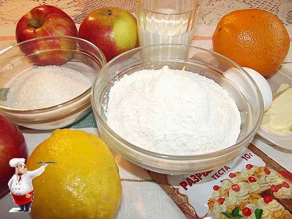 продукты для приготовления маффинов