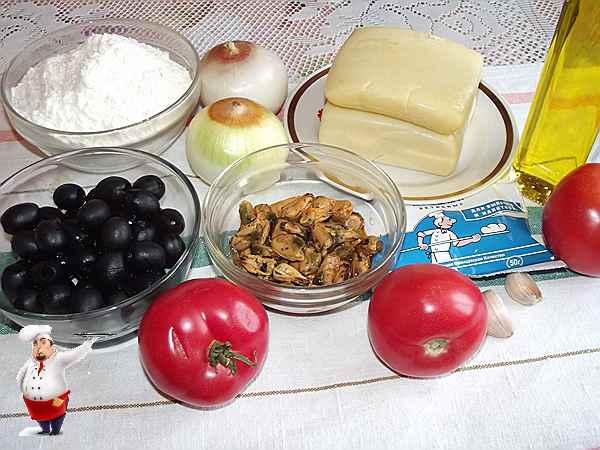 продукты для домашней пиццы
