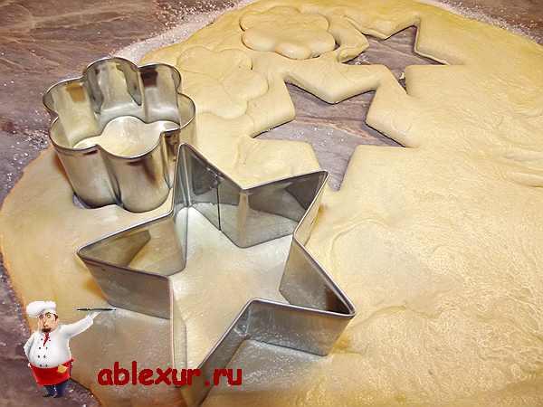 вырезаю печенье