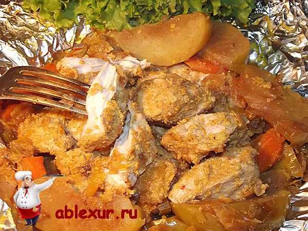 запеченная куриная грудка в духовке с соусом