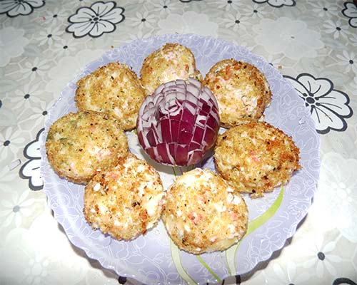 закуска крабовые шарики
