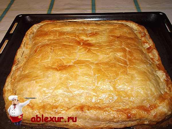 Тесто для пирогов с курицей