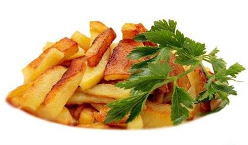 как пожарить картофель