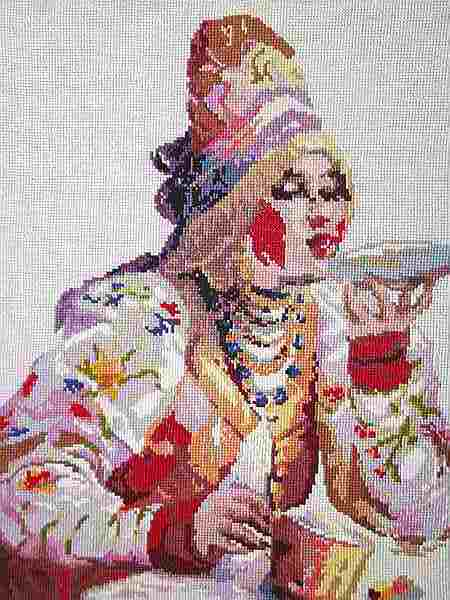 картина барыня пьёт чай
