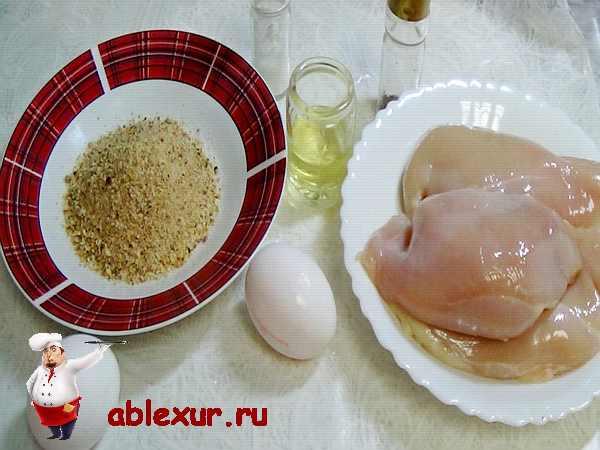 продукты для приготовления наггетсов