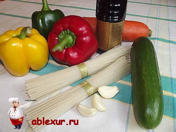овощи для азиатского салата