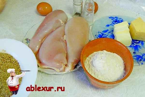 продукты для приготовления котлет по киевски