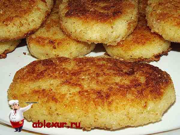 вкусные и простые котлеты из картошки