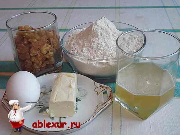 продукты для приготовления рецепта овсяных печений