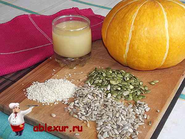 Тыква духовке медом фото рецепт