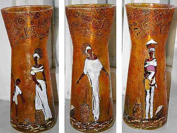 подарок на новый год африканская ваза