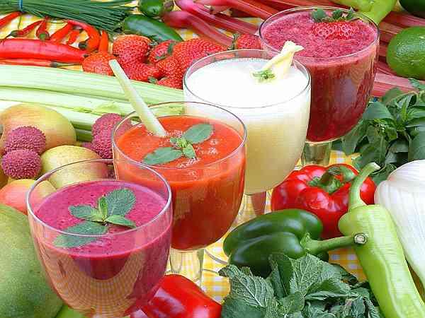 рецепты овощных и фруктовых смузи для блендера