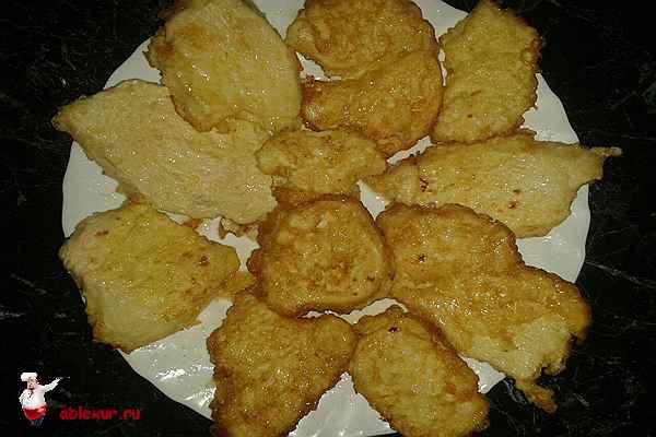 приготовленные куриные отбивные