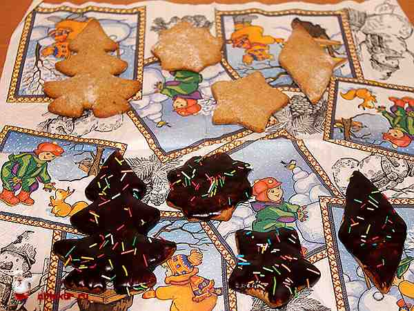 медовые пряники в шоколадной глазури