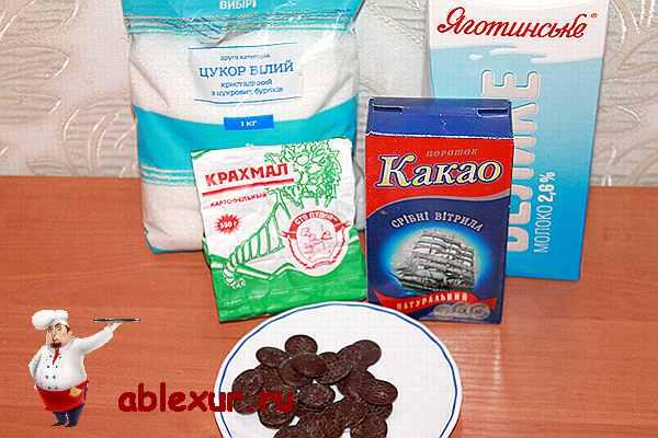 Рецепт гарячого шоколаду в домашніх умовах