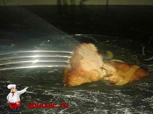 отбивные из говяжьей печени рецепт с фото