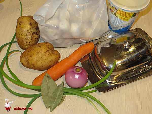 продукты для пельменного супа