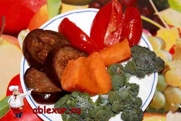 овощи для свиной рульки фото