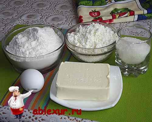 продукты для творожного печенья