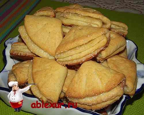 печенье из творога поцелуйчики