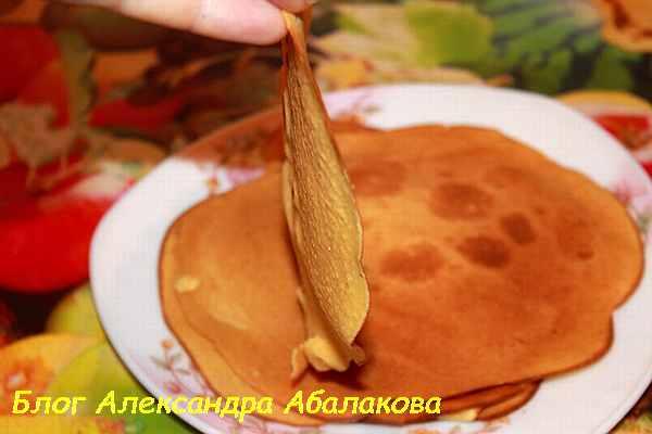 рецепт вкусных блинов из кукурузной муки