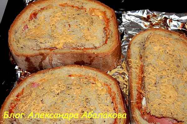 простые и вкусные горячие бутерброды рецепт с фото