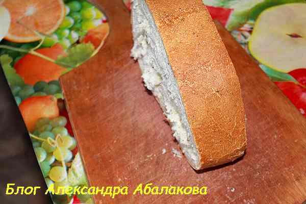 рецепт горячих бутербродов с ветчиной