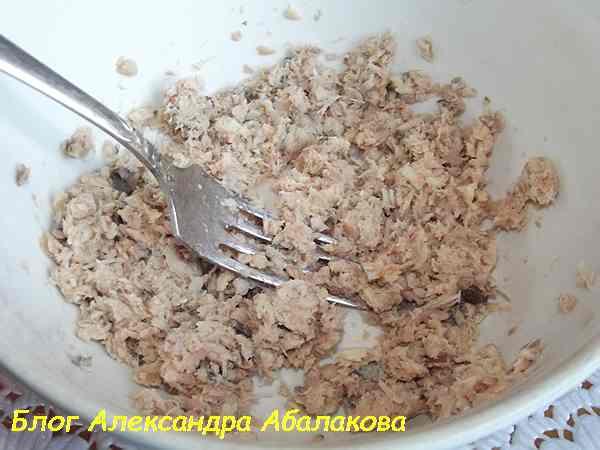 рецепт гренок с рыбой
