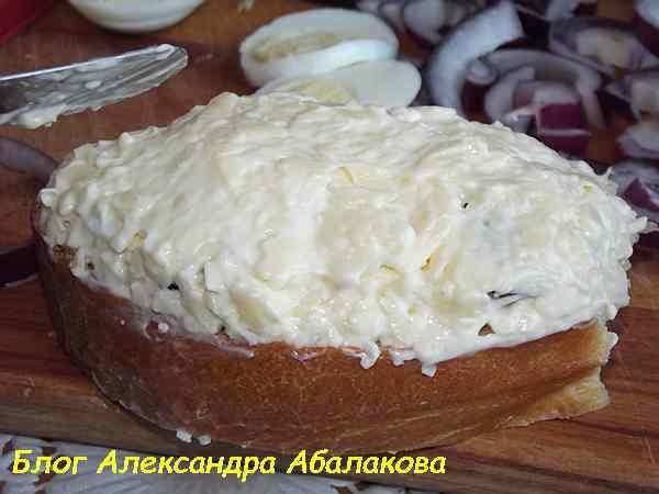 гренки в духовке с сыром