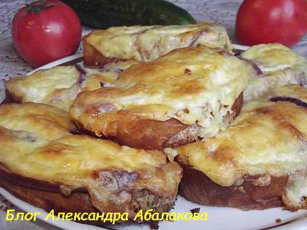 гренки в духовке рецепт с фото