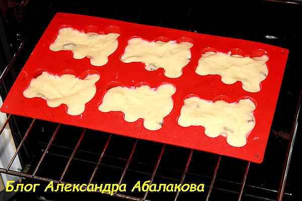 кексы из теста на сметане рецепт