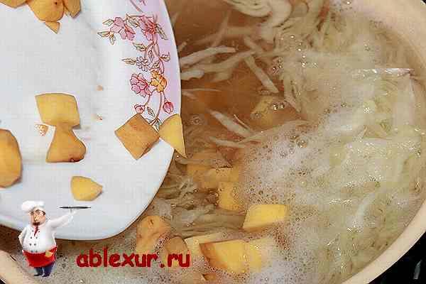 постный борщ с фасолью рецепт