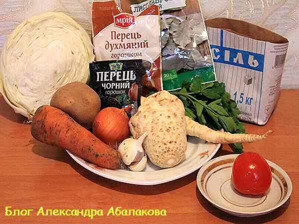 рецепт щей из свежей капусты
