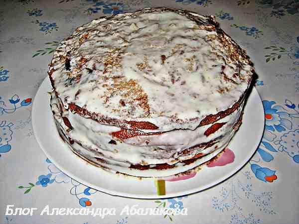 Простой торт с вареньем в мультиварке рецепты