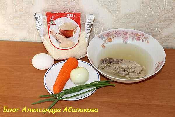 как приготовить куриный суп с клецками